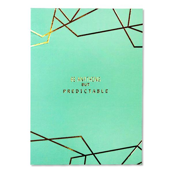 "Image of Sterling 5"" x 7"" PaperTrends Note Pad Geometric - Be Anything"
