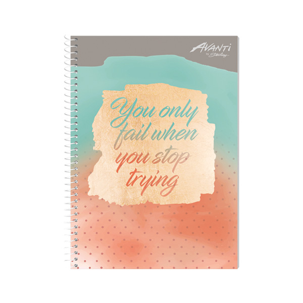 Image of Avanti Blissful Vibes Premium Spiral Notebook Set of 8