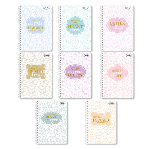 Image of Sterling Hello Kitty Spiral Notebook 685 Set of 8