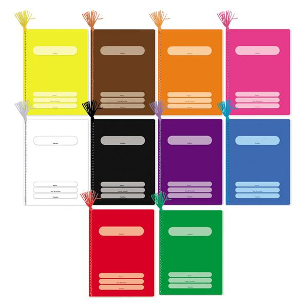 Image of Orions Color Coding Yarn Notebook Set of 10