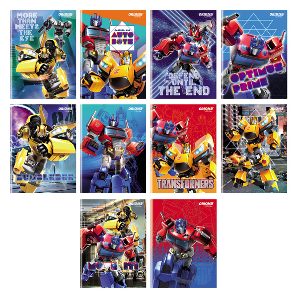 Image of Orions Transformers Composition Notebook Set of 10