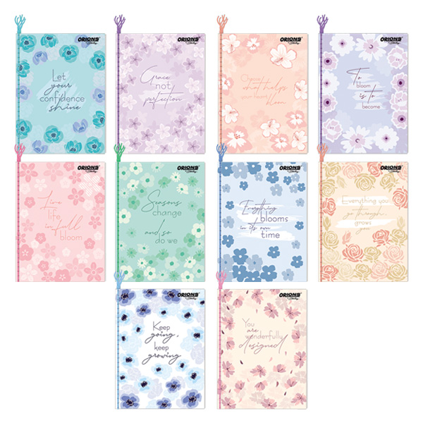 Image of Orions F Quotes Yarn Notebook Set of 10