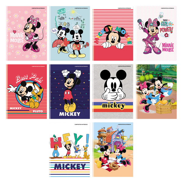 Image of Orions MickeyMouse Composition Notebook Set of 10