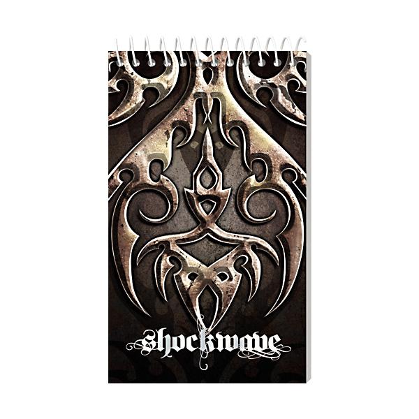 Image of Sterling Memo Notebook Shockwave 3'' x 5'' Set of 5