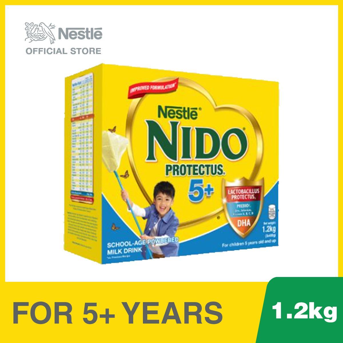 Promotions & Catalogs - Nestle Nido 5+ - School-Age Powdered