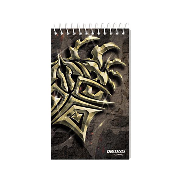 Image of Orions Memo Notebook Shockwave 3'' x 5'' Set of 5
