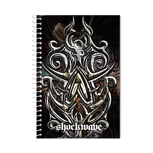 Image of Sterling Memo Notebook Shockwave 4'' x 6'' Set of 5