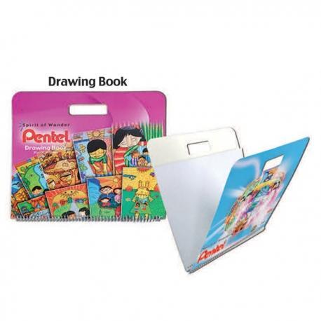Image of Pentel Arts Drawing Book Pink