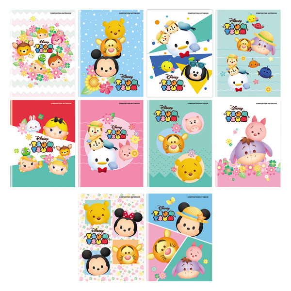 Image of Orions TsumTsum Composition Notebook Set of 10