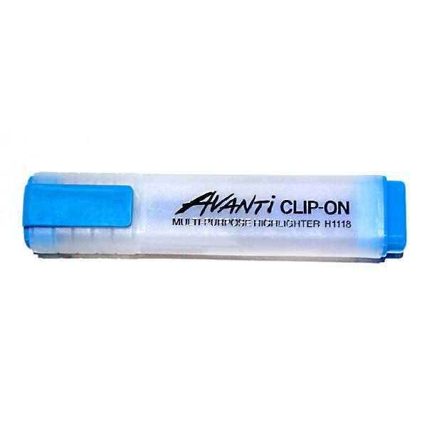 Image of Avanti CLIP-ON Highlighters - Blue