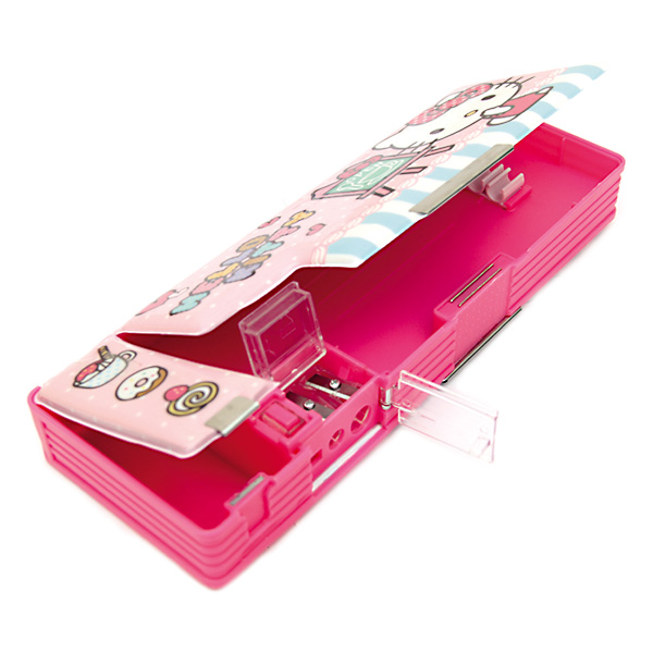 Image of Sterling Hello Kitty PVC with Mini Drawer Pencil Case