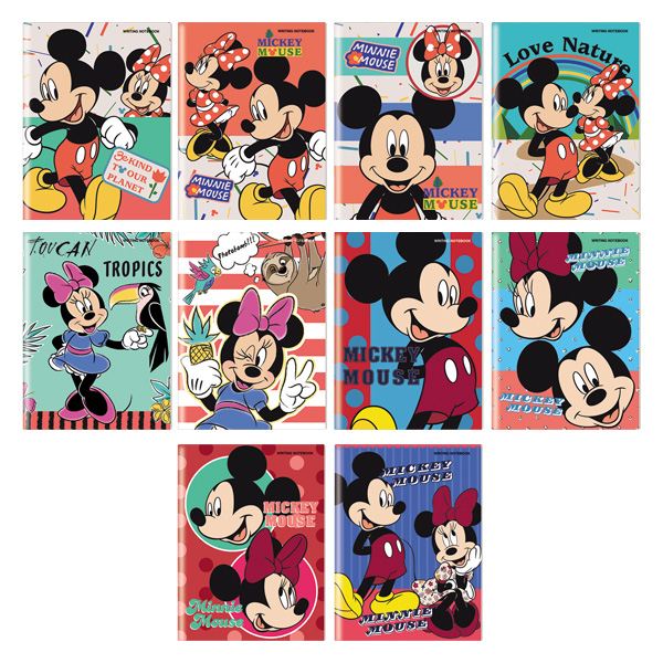 Image of Orions Disney MickeyMouse Writing Notebook Set of 10