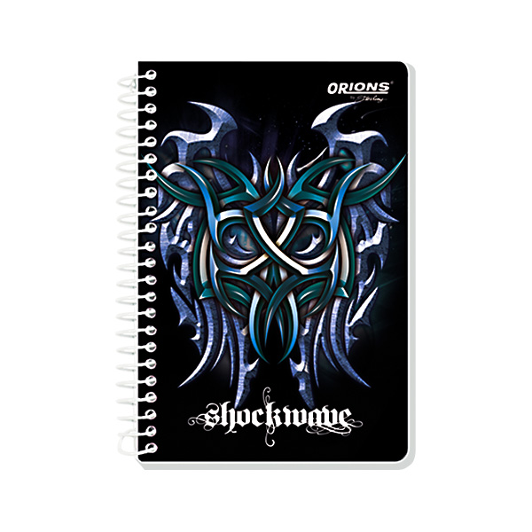 Image of Orions Memo Notebook Shockwave 4'' x 6'' Set of 5