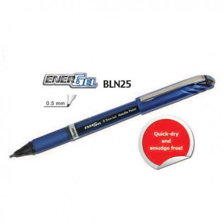Image of Pentel EnerGel BLN25 Gel Roller Pen Blue