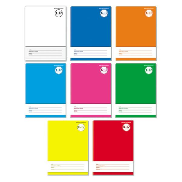 Image of Avanti K-12 Color Coding Writing Notebook Set of 8