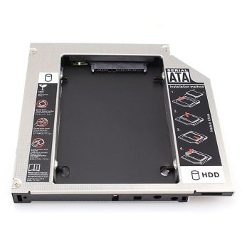 SATA 2nd HDD Caddy for 12.7mm Universal CD/DVD-ROM