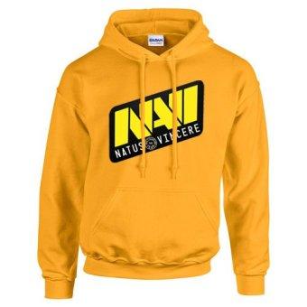 Winner Brand NA'VI Design Hoodie Jacket NAVI Natus Vincere DOTA 2 CS GO Yellow