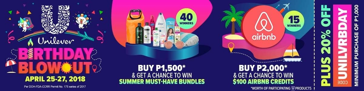 Unilever Birthday Blowout!