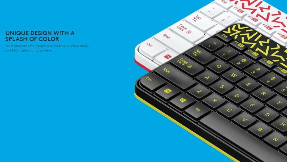 5235af6191b Logitech MK240 Nano Wireless Keyboard and Mouse Combo (Black ...