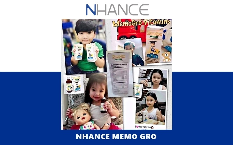 FDA Approved NHANCE MemoGro Children's Memory, Growth and