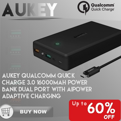 Product details of Aukey Quick Charge 2.0 54W 5 Ports USB Desktop Charging Station Wall Charger