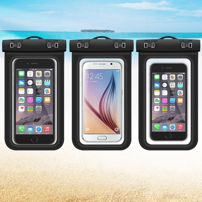 Waterproof Phone Case Bag PVC Waterproof Mobile Bag Pouch for iphone 6S Plus for Samsung Galaxy ...