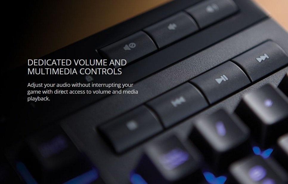 Corsair K55 RGB LED Backlit Wired Gaming Keyboard | CH-9206015-NA