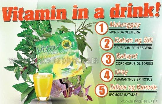 Vita Plus Dalandan Natural Health Drink 20s Set Of 2
