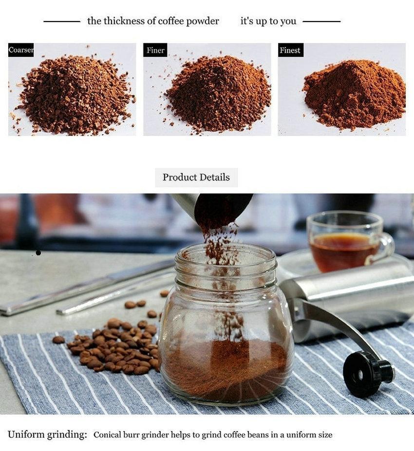 how to adjust manual coffee grinder