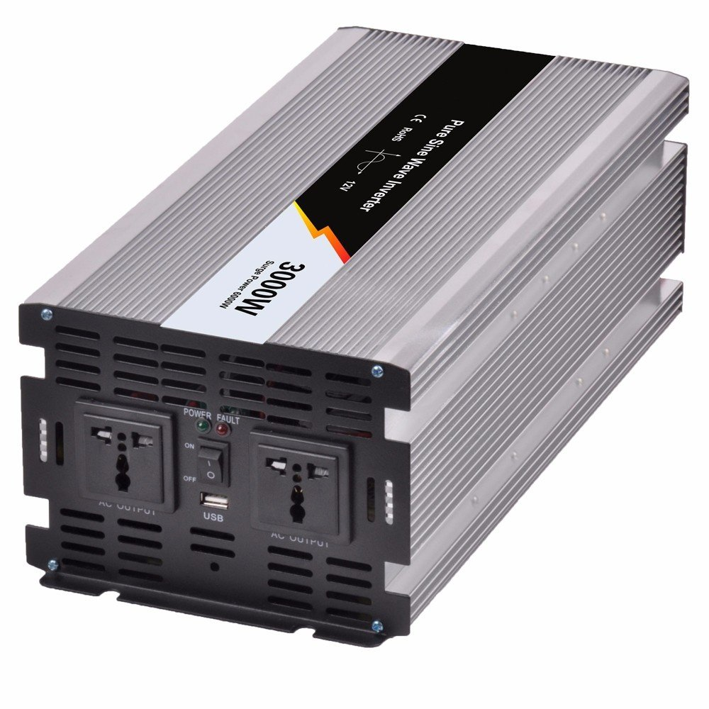 Y-SOLAR 3000W Pure Sine Wave Off Grid Tie Inverter Optional 12V DC ...