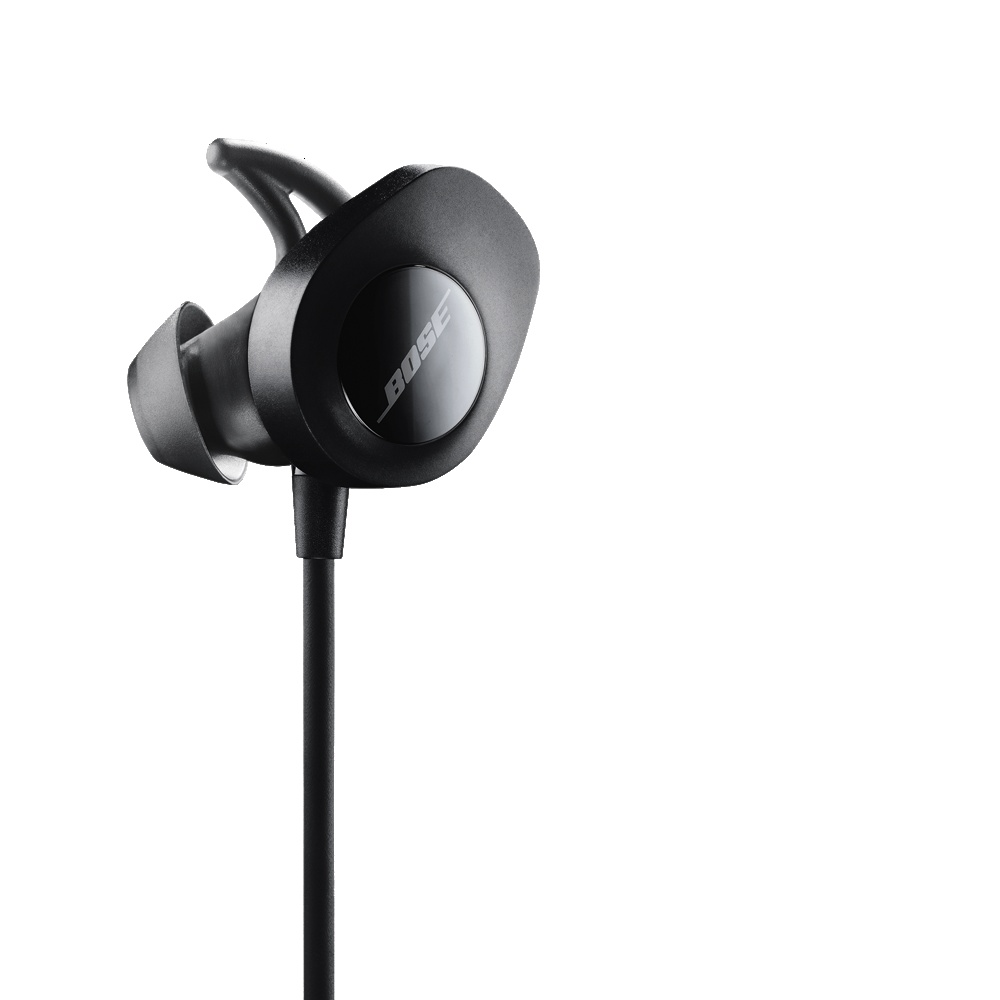 bose in ear wireless headphones. the tips\u0027 unique shape creates a gentle seal in your ear, which helps improve audio performance. extended flexible wing provides support and improved bose ear wireless headphones i