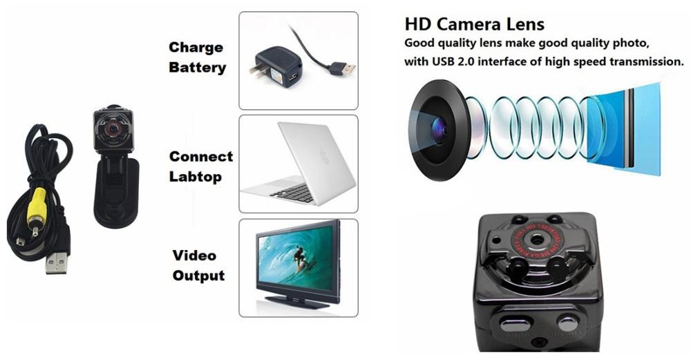 Jt Sq8 Mini Dv Camera 1080p Full Hd Spy Camera Lazada Ph
