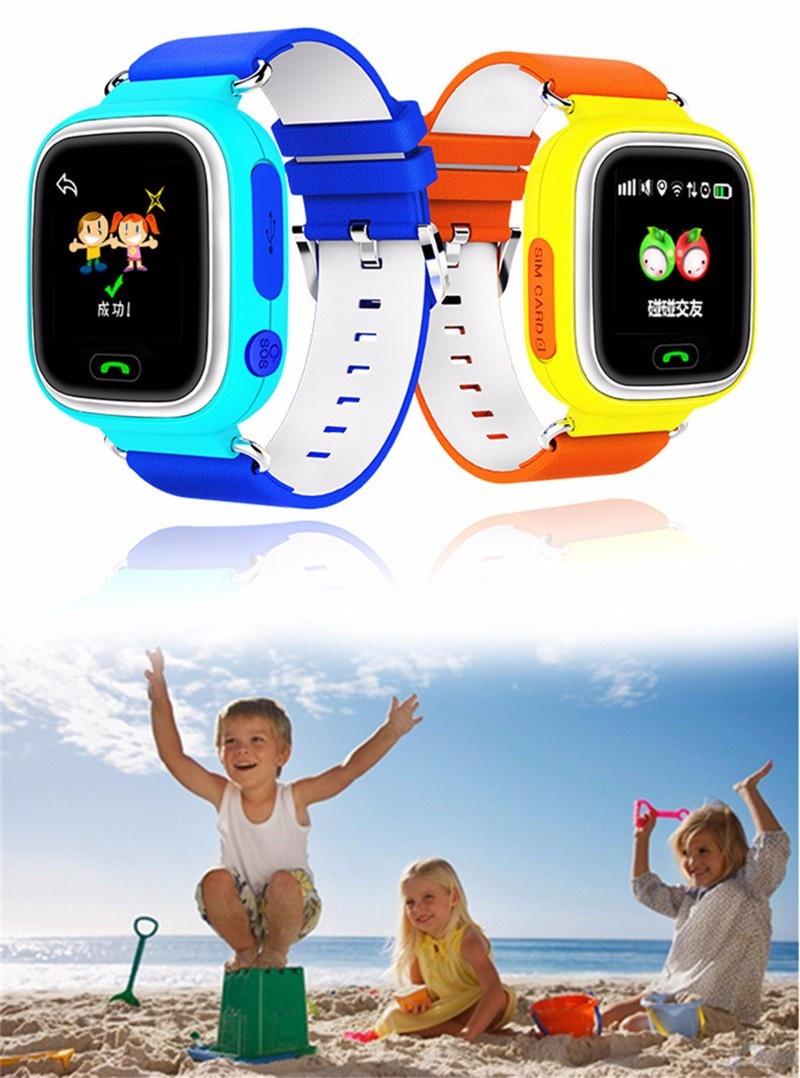 Kids GPS Watch Functions: