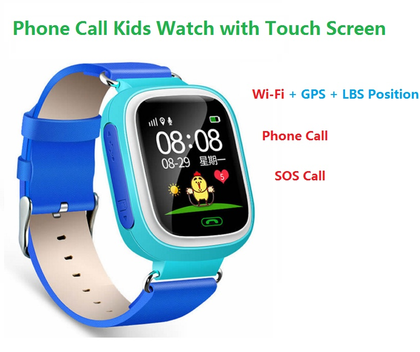 Product details of 2Cool Kids Smart Watch with Touch Screen Phone Call WiFi Position Anti Lose SOS GPS Tracker Children SmartWatch for iPhone Android - intl