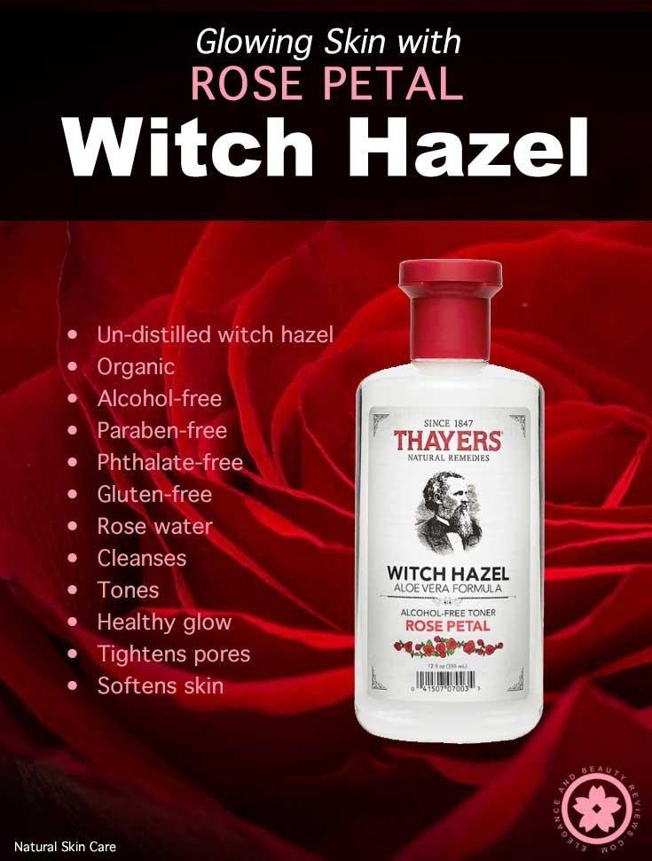 Thayers Witch Hazel Toner Alcohol-Free 355ml (Rose Petal
