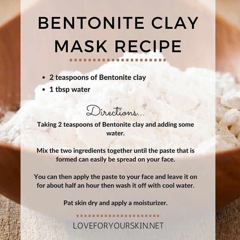 Diy Homemade Charcoal Clay Mask For Beautiful Skin: Organic Beauty Lab Aztec Bentonite Clay 50g