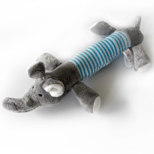 Does your dog love to play tug-a-war, retrieve or chew? Then delight your dog with these adorable stuffed doggy toys! With a squeaker in the head and a ...