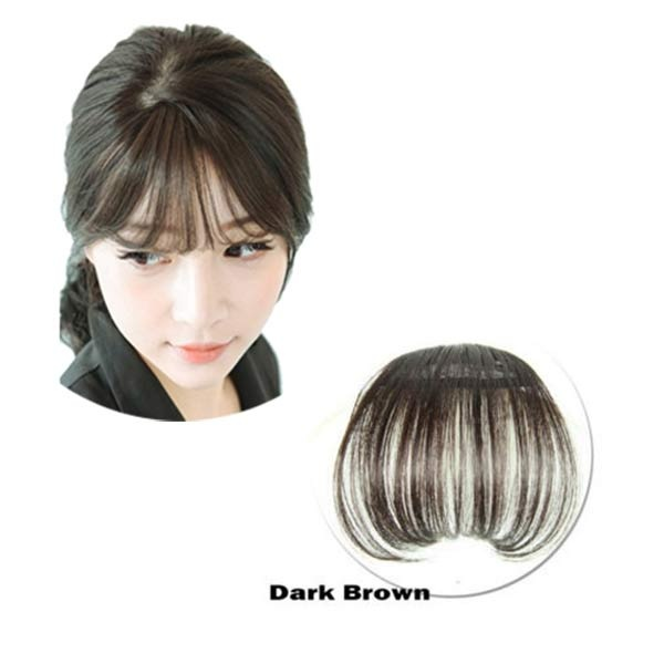 Product details of Women Bangs Wig Hair Extension Fringe Hairpieces Hair  Clips Front Neat Bang - intl da47832605