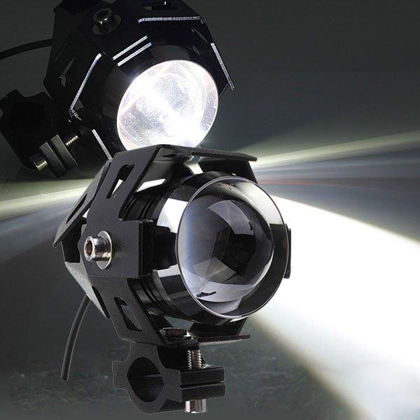Led Spotlight Headlamp: CREE U5 Motorcycle LED Headlight Waterproof High Power