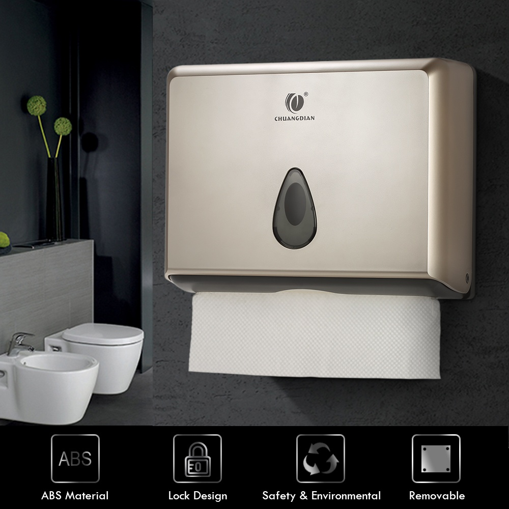 Chuangdian wall mounted bathroom tissue dispenser tissue for Bathroom accessories lazada