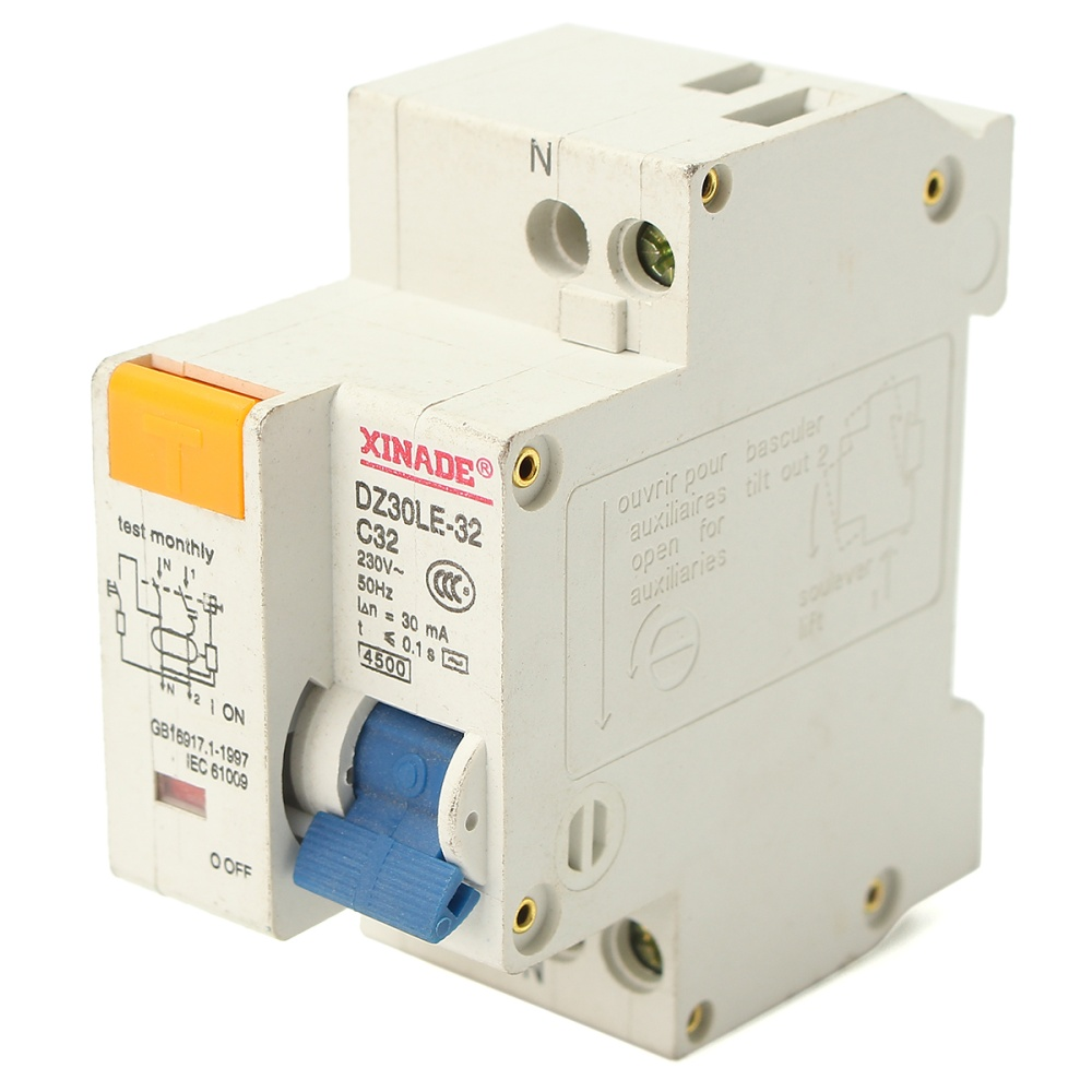 Philippines 32a Small Circuit Breaker Leakage Protection Trip Notice Please Allow 1 3mm Error Due To Manual Measurement And Make Sure You Do Not Mind Before Ordering Understand That Colors May Exist Chromatic