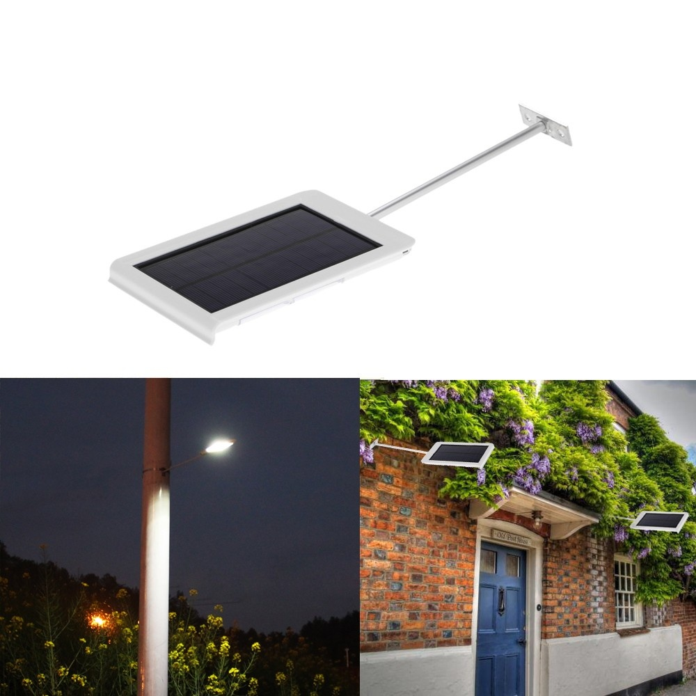 Solar Lights Lazada: 15 LEDs Solar Powered Ultra-thin Water-resistant Wall