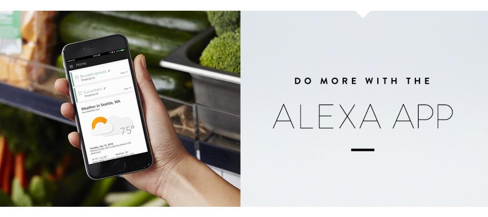 Do more with Alexa App
