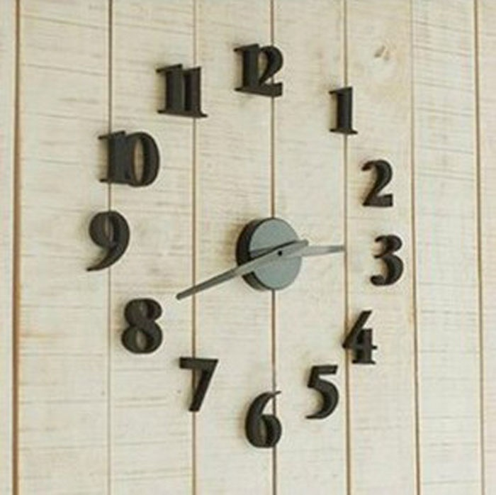 Diy Self Adhesive Decal Modern Wall Digit Number Room