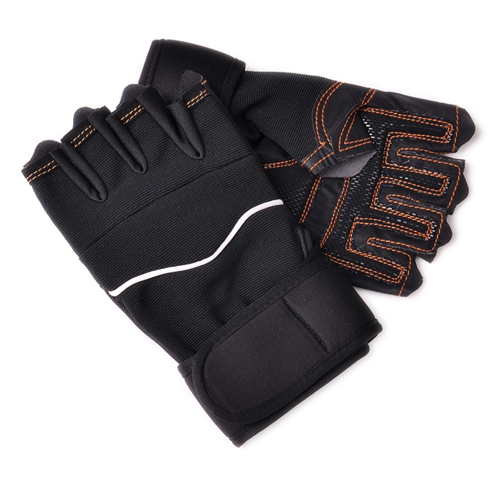 Outdoor Fitness Gloves: Outdoor Sport Gym Workout Weight Lifting Training