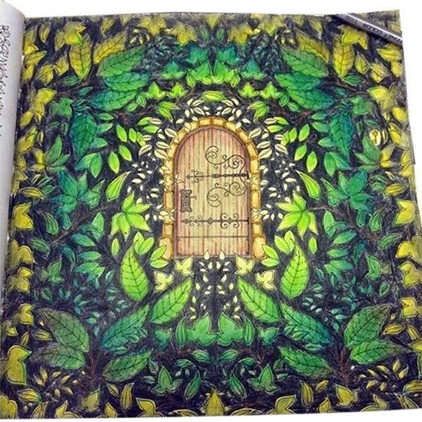 coloring book for adults lazada hang qiao secret garden nella fantasia coloring book black
