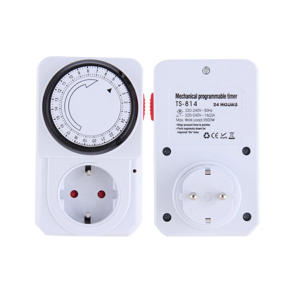 24 hour timer switch instructions