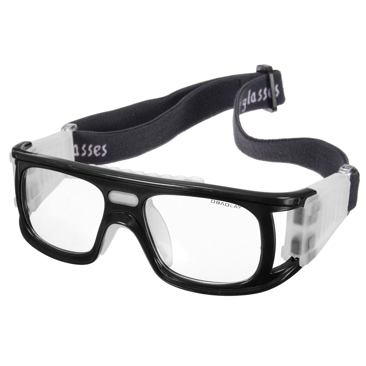 da15e270db1 Product details of Basketball Soccer Football Sports Protective Elastic  Goggles Eye Safety Glasses Black