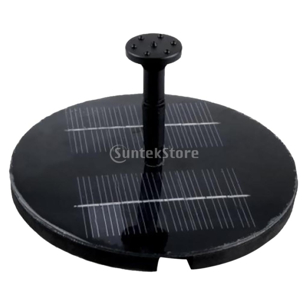 Solar water pump garden fountain pond lazada ph for Solar water pump pond