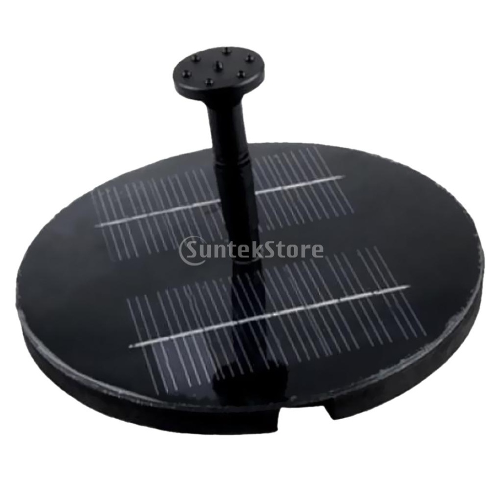 Solar water pump garden fountain pond lazada ph for Solar water filter for ponds